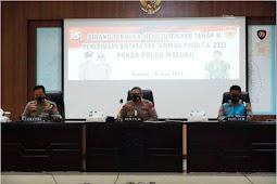 615 Casis Bintara dan Tamtama di Polda Maluku Dinyatakan Lolos ke Rikes