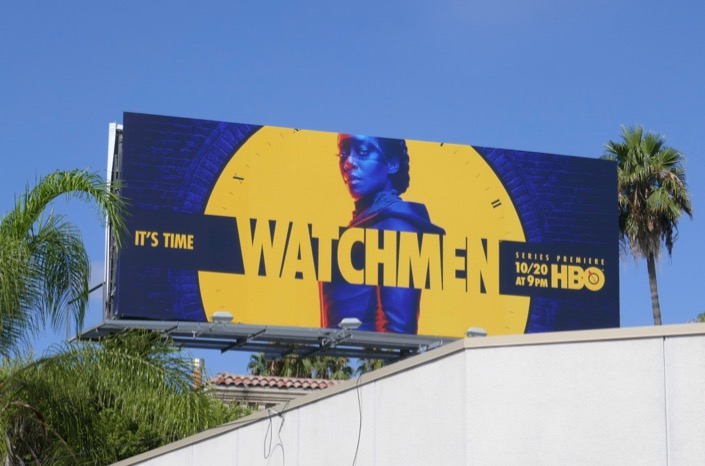 Watchmen HBO series billboard