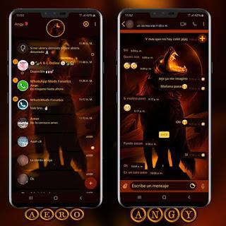 Horror Wolf Theme For YOWhatsApp & GB WhatsApp By Ave fénix