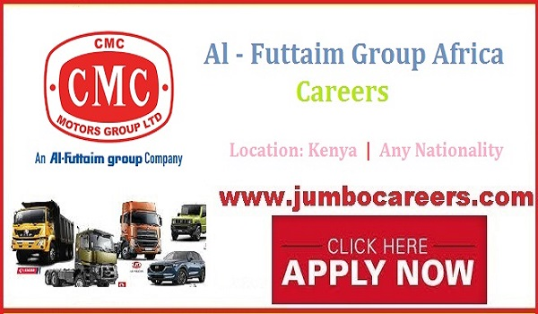 CMS Motors Kenya Jobs 2021