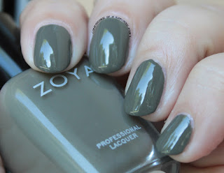 Zoya Focus Collection swatches and review Charli