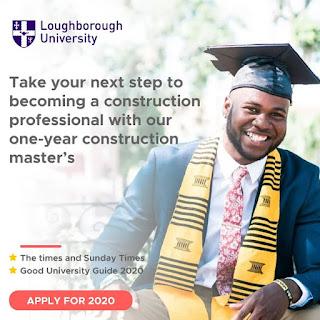NEWS: Loughborough University 2020 intake is open!