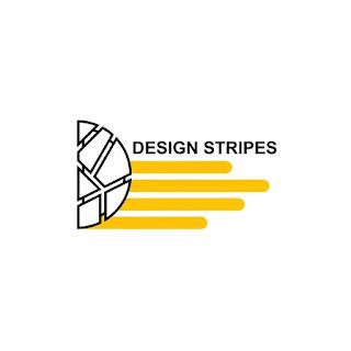 The original logo design of design stripes
