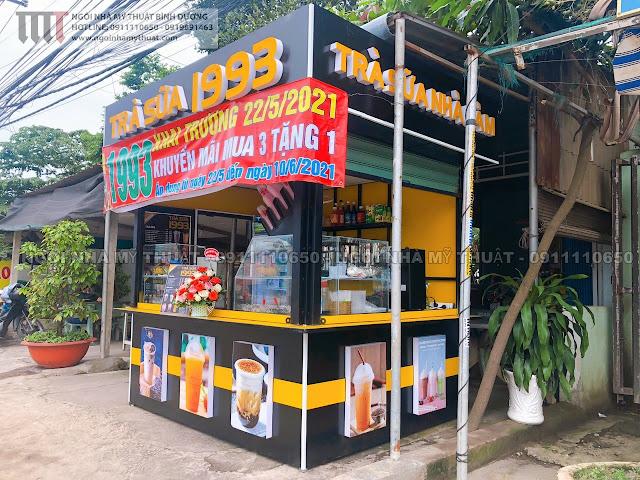 Cung cấp xe kiot trà sữa, cafe rẻ đẹp tại Bình Dương