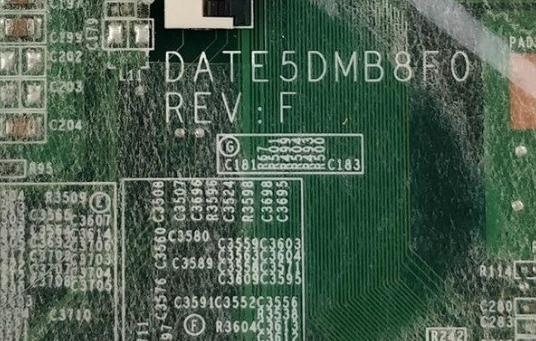 DATE5DMB8F0 Rev F (NVidia) TOSHIBA L740 L745