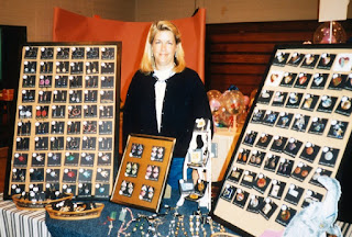 MJ at a craft show in the 1990's.