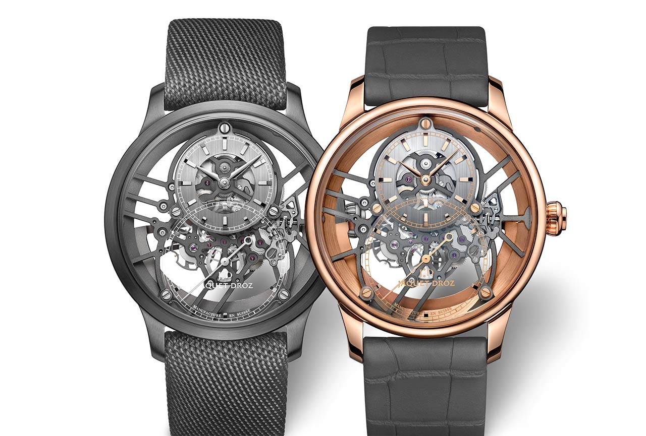 Jaquet Droz Grande Seconde Skelet-One, new 2020 models