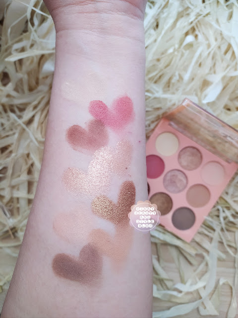 squad cosmetics swatches review