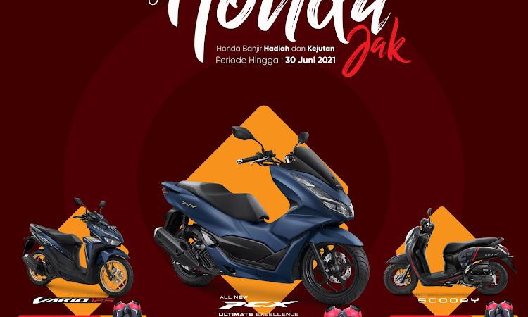 """Astra Motor Kalbar Berikan Promo Istimewa Bernama """"Honda Jak"""""""