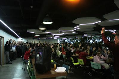 Cerca de 800 funcionários da Unisys Brasil aprovam o Acordo Coletivo de Trabalho com melhorias em benefícios