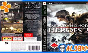 تحميل لعبة Medal of Honor Heroes 2 psp مضغوطة لمحاكي ppsspp