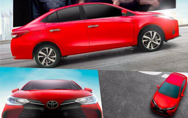 Toyota Vios bản nâng cấp mới nhất lộ diện, chốt thời điểm trình làng