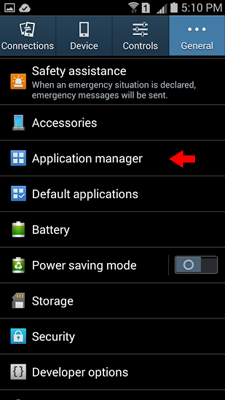 how to delete lock manager app