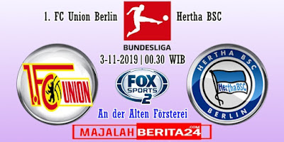 Prediksi Union Berlin vs Hertha BSC — 3 November 2019