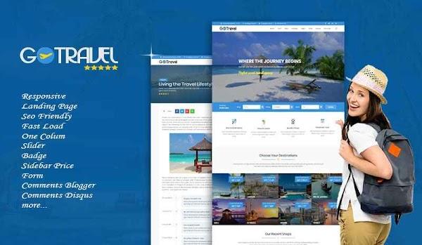 Go Travel Theme Responsive Blogger Template