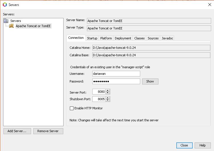 How To Add Apache Tomcat Server in Netbeans 10 | Dariawan