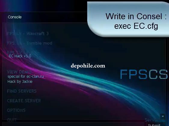 Counter Strike 1.6 EC v1 Strafe, Speed Hilesi İndir Mayıs 2021