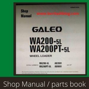 Wa200-5 Galleo shop manual wheel loader