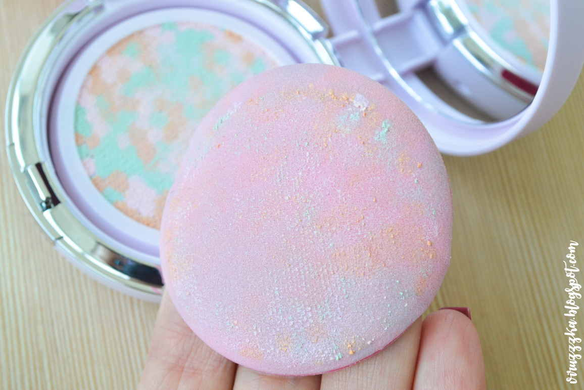 Guerlain Meteorites Glow Pearls Cushion Radiance-Revealing Illuminating Pearls SPF 10 Make-Up Primer Review & Swatches