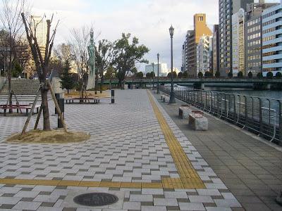 大阪市・中之島公園ウォーキング