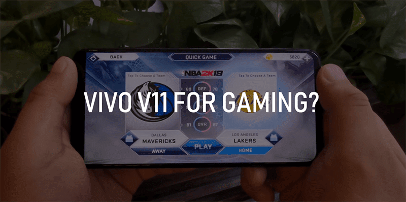 Is the Vivo V11 a good midrange gaming smartphone?