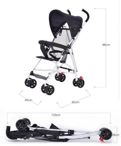 Stroller bayi lipat 3