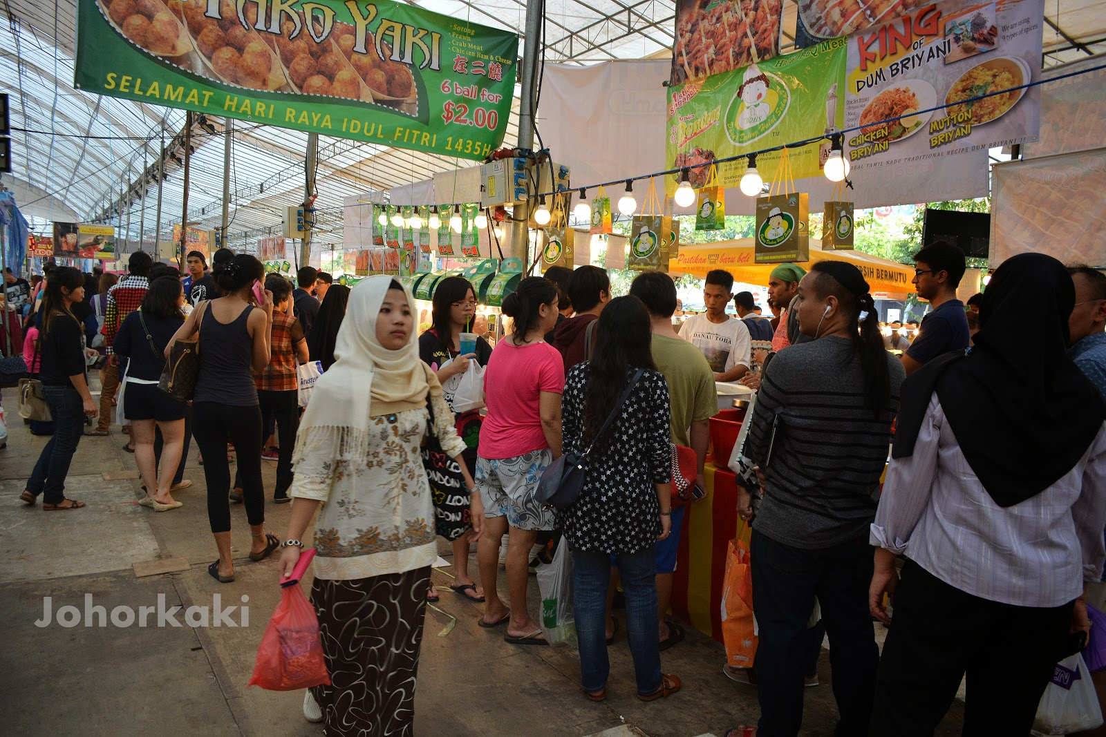 Ramadan Bazaar In Singapore Geylang Serai Johor Kaki