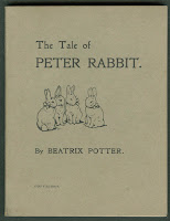 "A cover for ""The Tale of Peter Rabbit."""