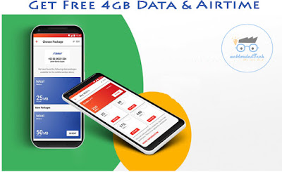 DENT: Get Free 4gb Data & Airtime Worth N2500 For Download