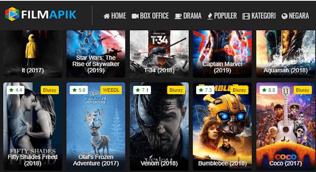 Alamat Terbaru Filmapik Subtitle Indonesia Situs Tempat Nonton Film gratis sub indo