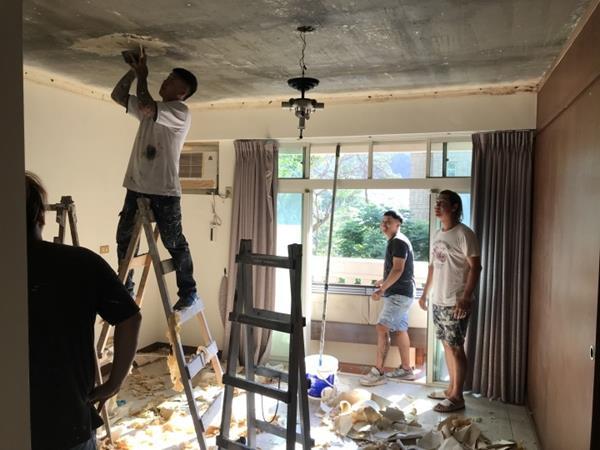 sơn sửa lại căn hộ chung cư tại quận 6