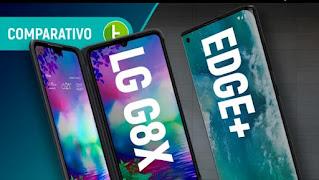 MOTOROLA EDGE+ VS LG G8X: