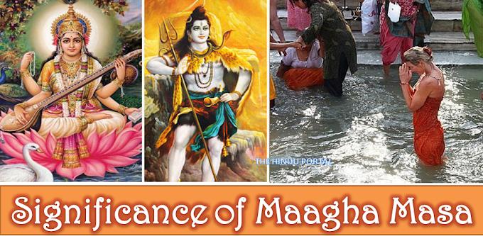 Significance of Maagha Masa