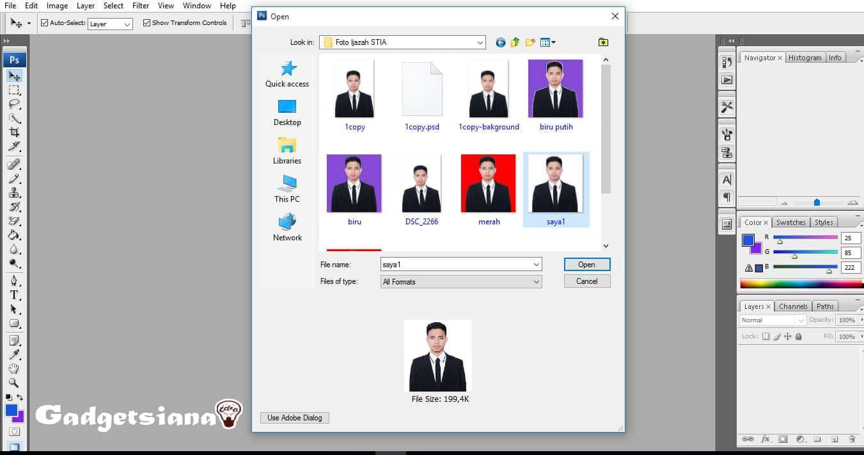 Cara Mengubah Ukuran Foto Di Photoshop Menjadi 2x3 3x4 4x6 Mediasiana Com Media Pembelajaran Masakini