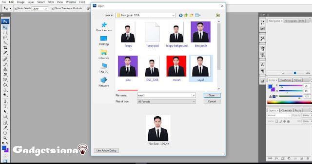Cara Mengubah Ukuran Foto di Photoshop Menjadi 2X3, 3X4, 4x6