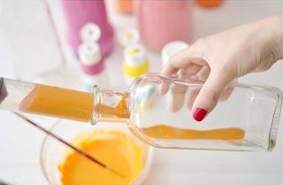 Cara Membuat Kerajinan Tangan Yang Mudah, Vas Dari Botol Bekas 2