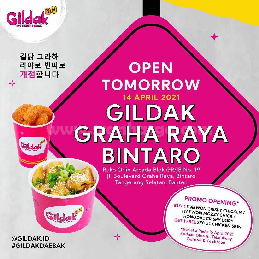 GILDAK GRAHA RAYA BINTARO Opening Promo Beli 1 Gratis 1
