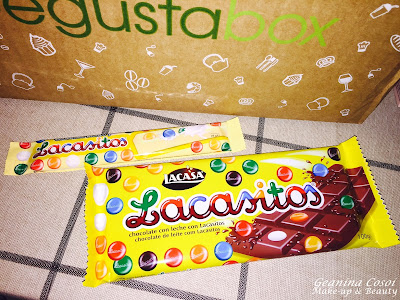 Lacasitos chocolate con leche Caja Degustabox Marzo ´16