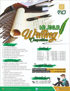 MD Jogja Writing Competition 2020