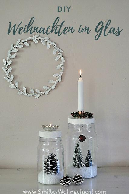 Weihnachten im Glas DI)Y