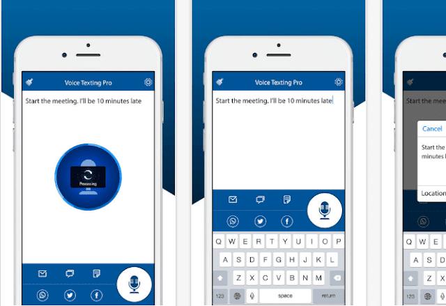 تحويل الصوت الي نص عربي مكتوب مجانا للايفون