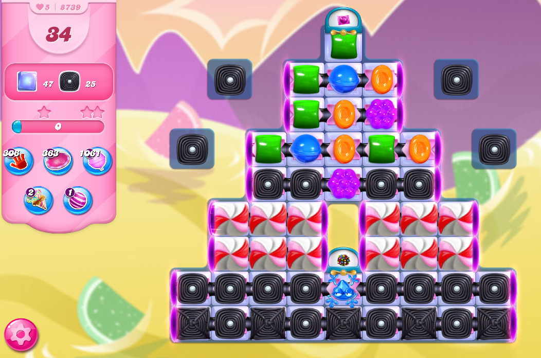 Candy Crush Saga level 8739