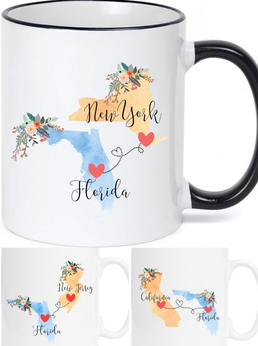 Florida United States Mugs