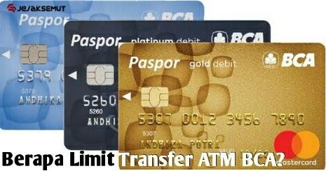 Berapa Limit Transfer Bca Gold Xpresi Platinum Silver Jejaksemut
