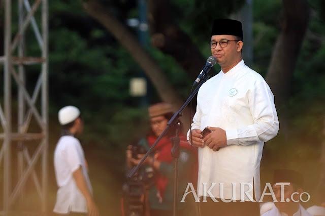 Gemuruh Takbir Warnai Reuni 212 saat Anies Sebut Nama Prabowo dalam Pidatonya