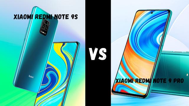 Xiaomi Redmi Note 9S vs Xiaomi Redmi Note 9 Pro