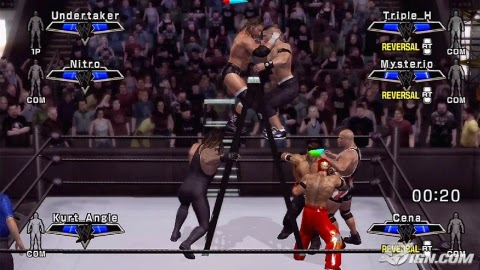 WWE Smackdown! Vs Raw 2007 PS2