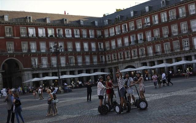 Ισπανία: Βουτιά 85% των ξένων τουριστών το 2020