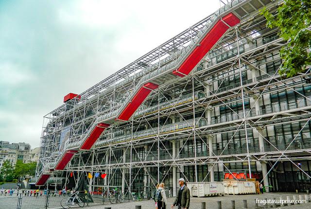 Centro Georges Pompidou ou Beaubourg, Paris