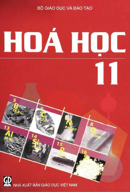 Sách Giáo Khoa Hóa Học 11